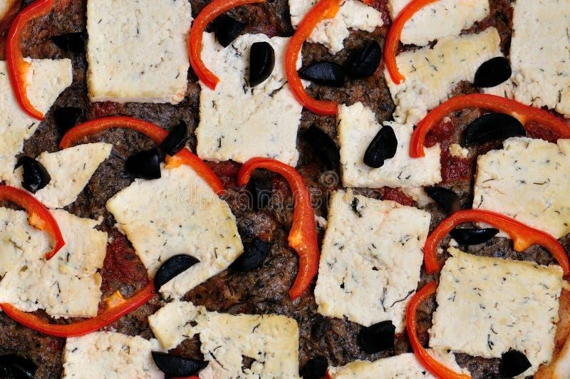 Vegetarian Pizza Royalty Free Stock Photo
