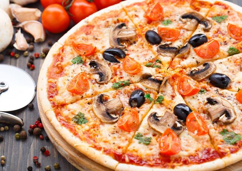 Download Vegetarian pizza stock image. Image of vegan, tasty, vegetarian - 39879179