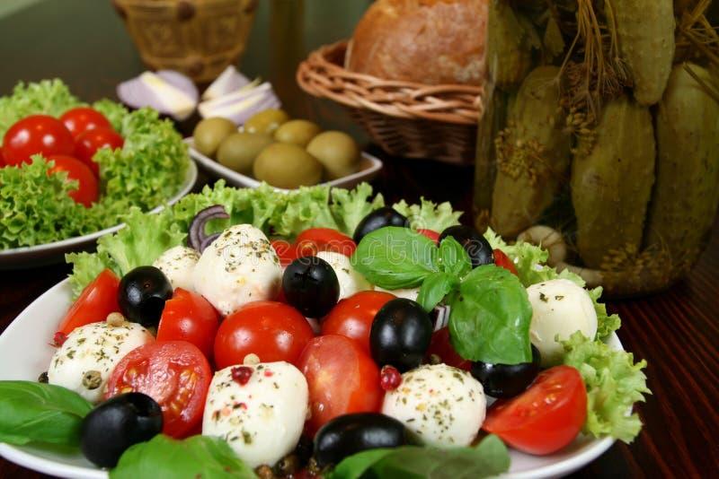 Vegetarian restaurant stock photo