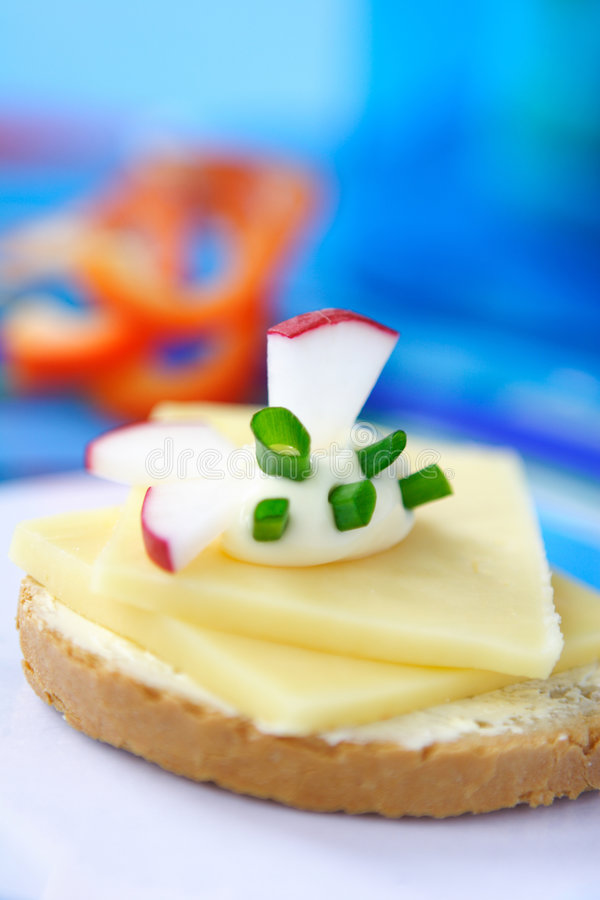 Download Vegetarian Sandwich Stock Photography - Image: 514652