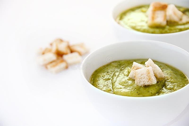 Vegetarian soup stock photos