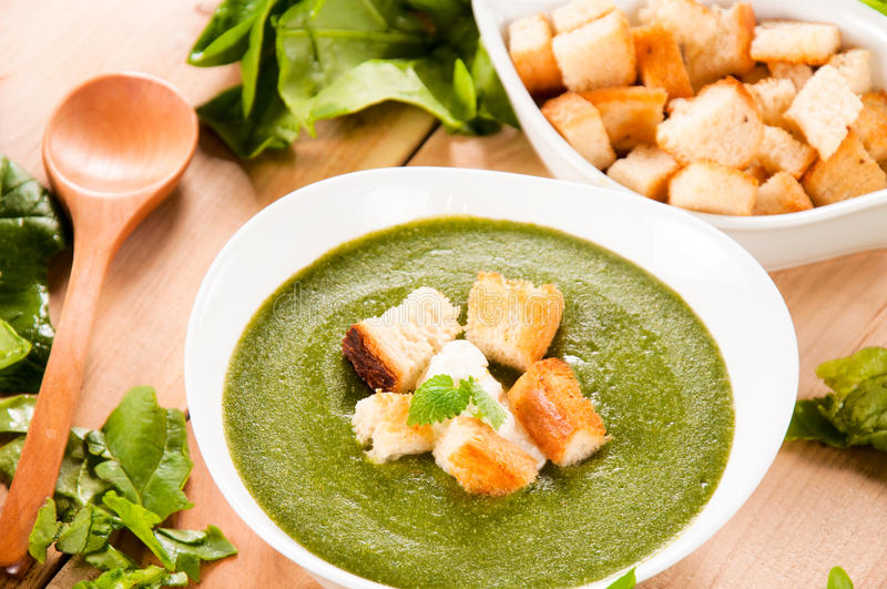 Download Vegetarian soup stock photo. Image of bowl, dish, background - 34260618