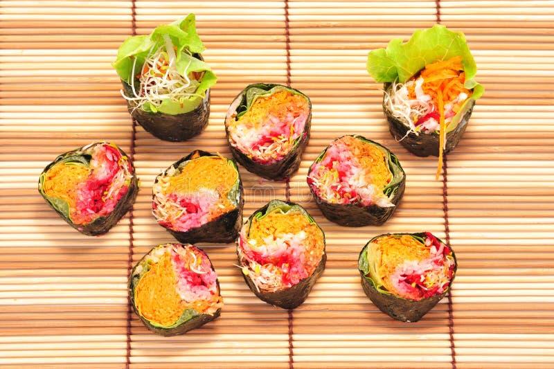 Download Vegetarian Sushi Royalty Free Stock Photos - Image: 20425238