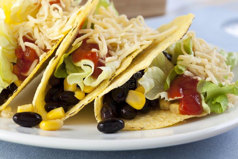 Vegetarian Tacos stock photography