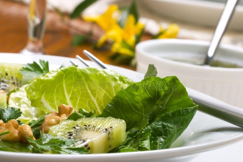 Vegetarisch diner stock fotografie