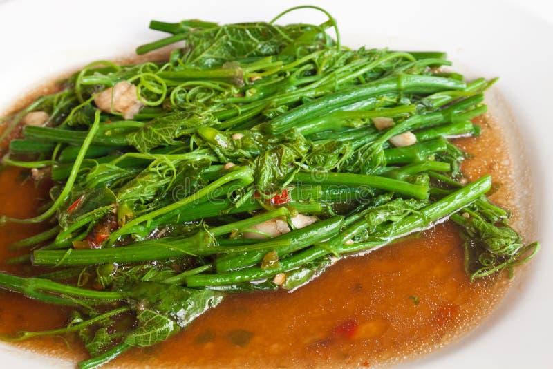 Vegetarisch Thais voedsel. stock foto's