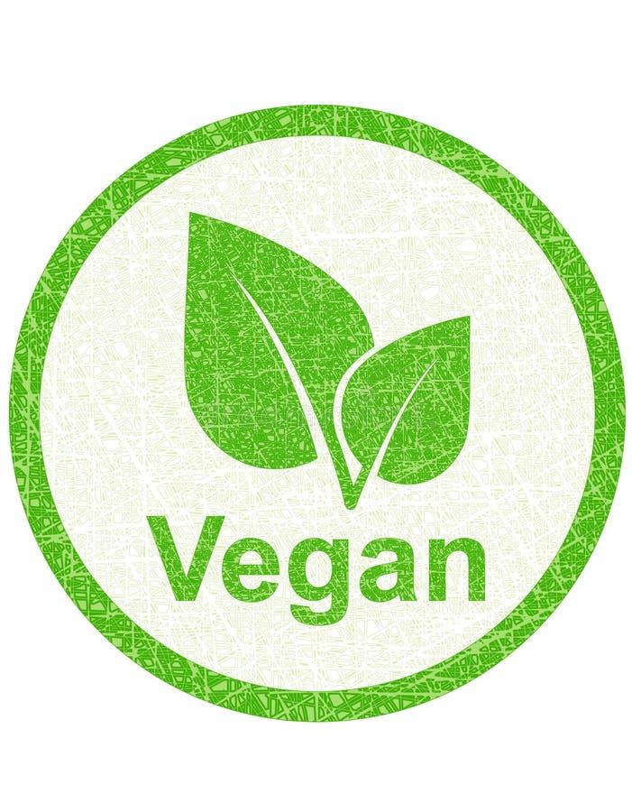 Vegetarische Dichtung stock abbildung
