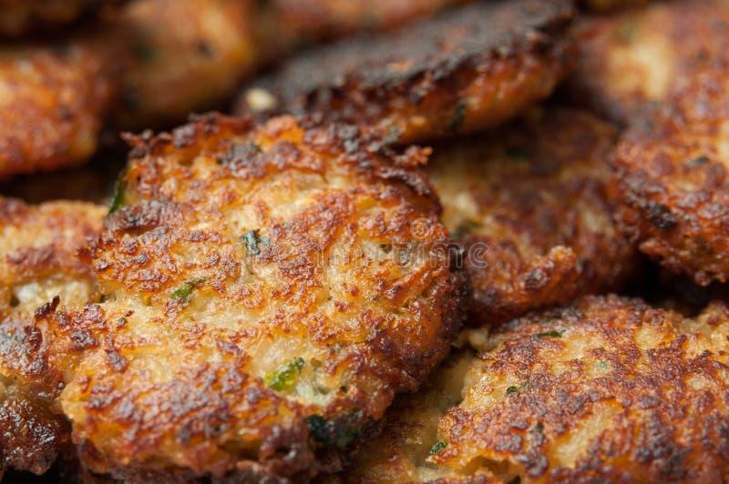 Vegetarische Fleischklöschen stockbilder