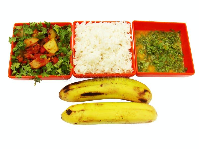 Vegetarische maaltijd stock afbeelding