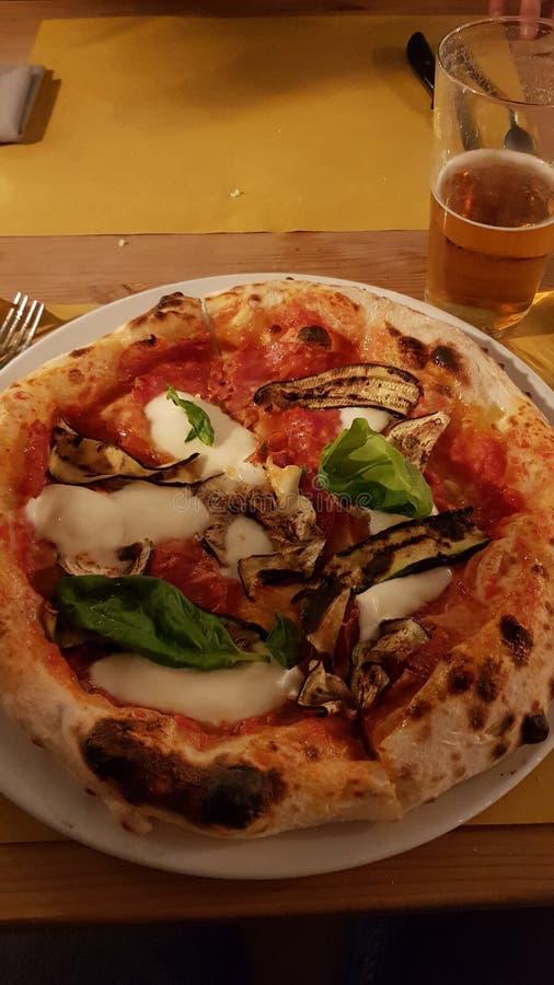 Vegetarische Pizza stock foto
