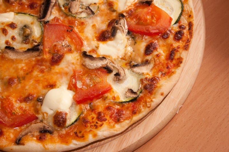 Vegetarische pizza royalty-vrije stock foto