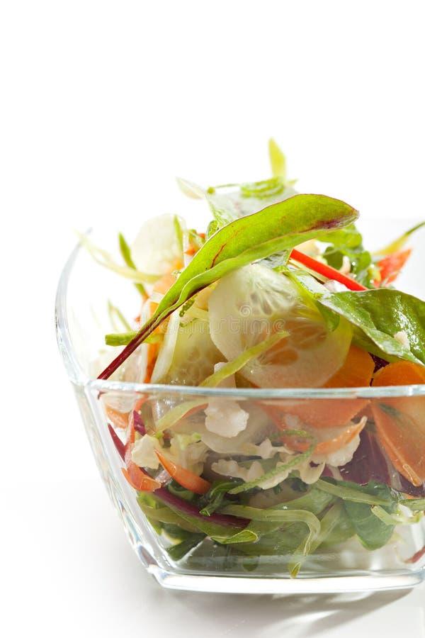 Vegetarische Salade royalty-vrije stock afbeeldingen