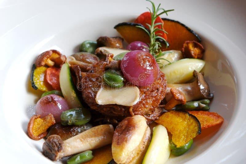 Vegetarische Schotel royalty-vrije stock foto's
