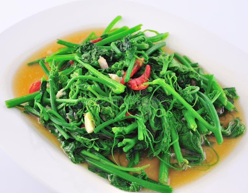 Vegetarische siamesische Nahrung. lizenzfreie stockfotos
