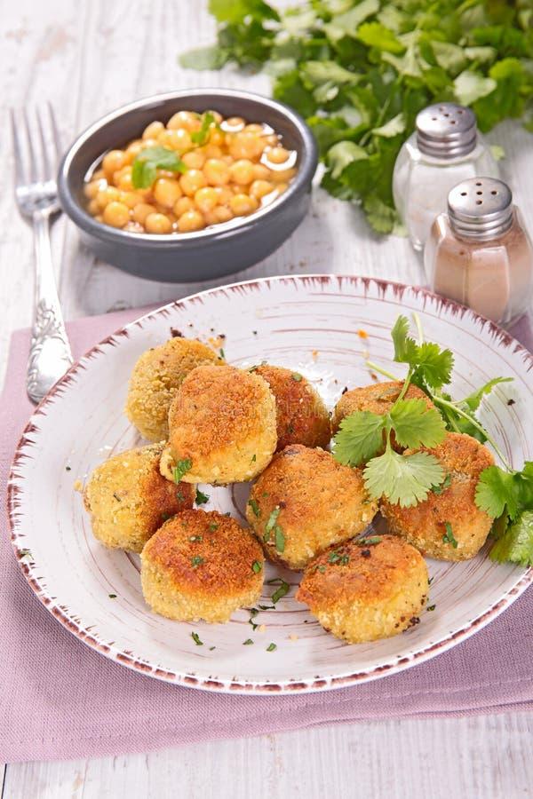 Vegetarischer Ball lizenzfreies stockfoto