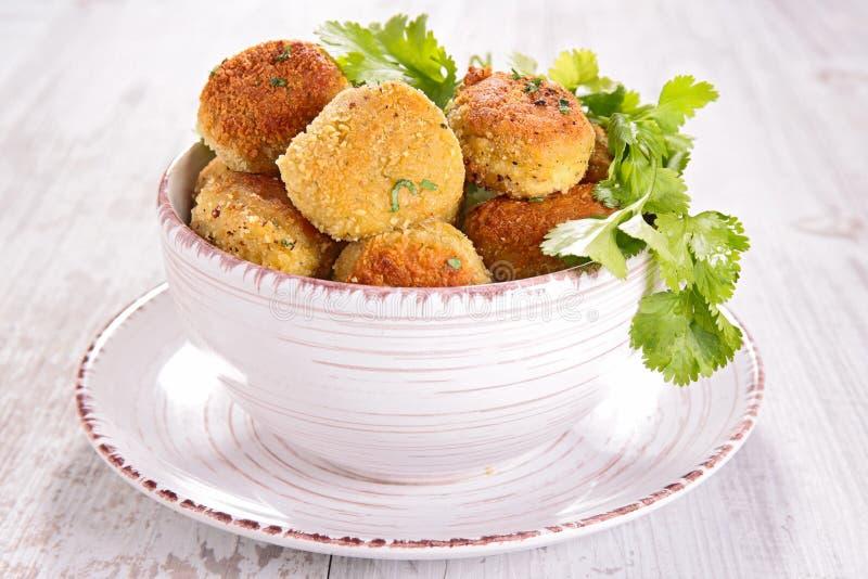 Vegetarischer Ball stockfoto