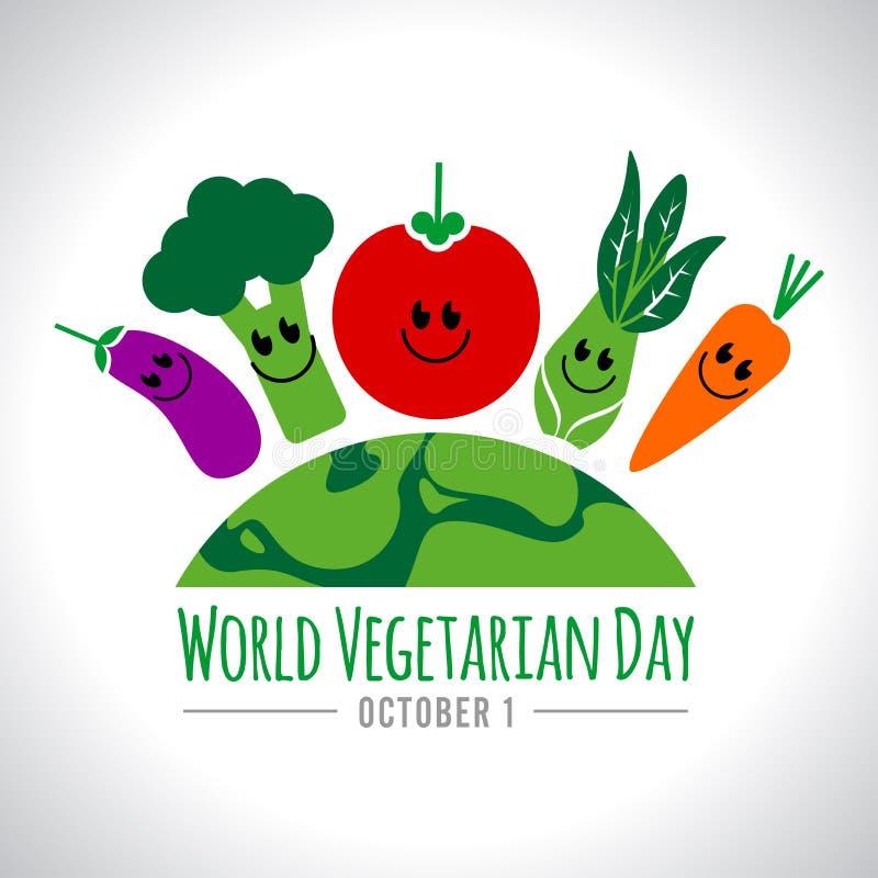Vegetarischer Tag lizenzfreies stockfoto