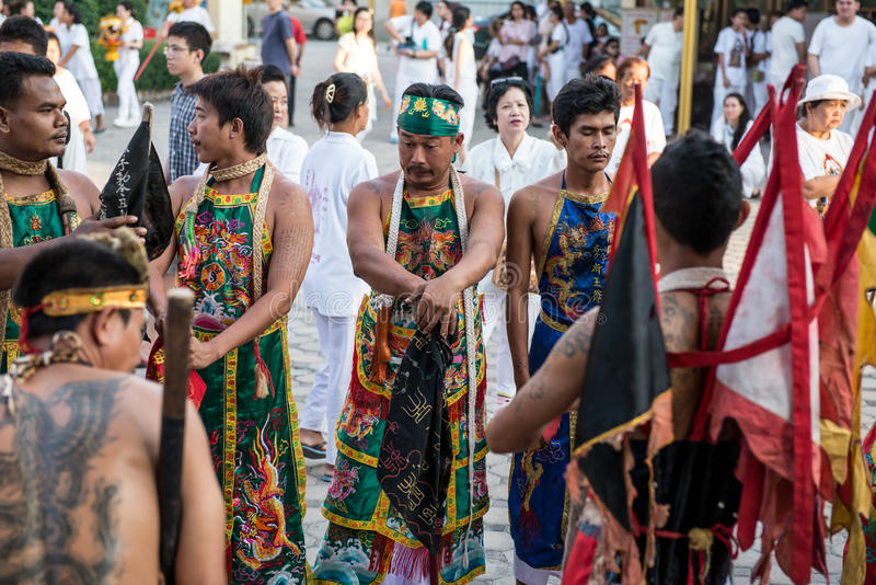 Vegetarisches Festival lizenzfreies stockbild