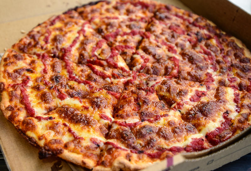 Vegetarisk Pizza royaltyfri bild