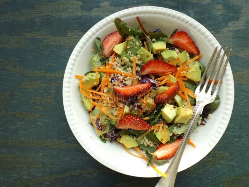 Vegetarisk sallad arkivfoton
