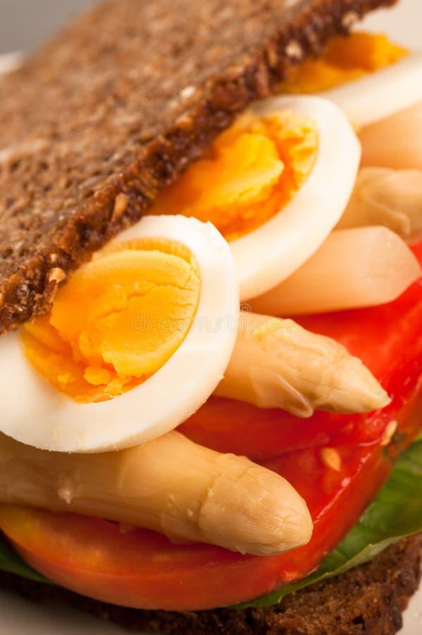 Vegetarisk smörgås arkivfoton