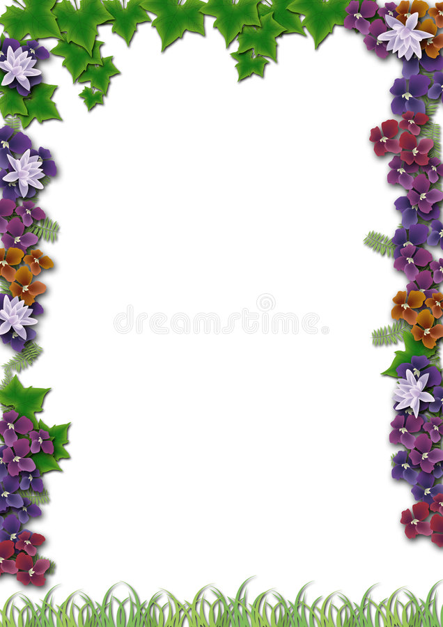 Vegetation frame