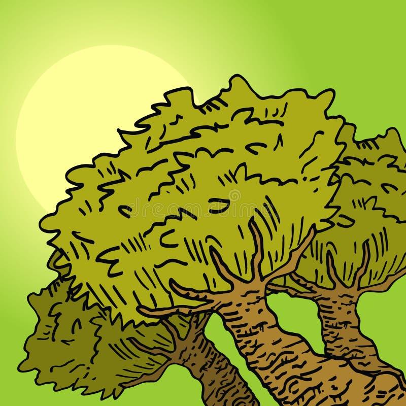 Download Vegetation relax stock vector. Illustration of vector - 23532664