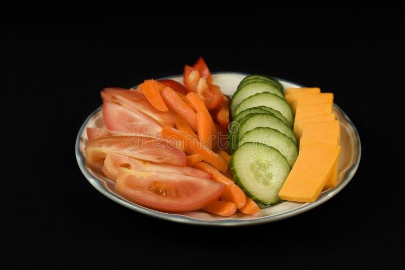 veggie тарелки стоковые изображения