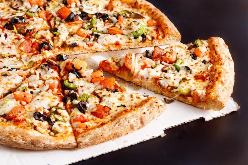 Veggie Pizza royalty free stock photography