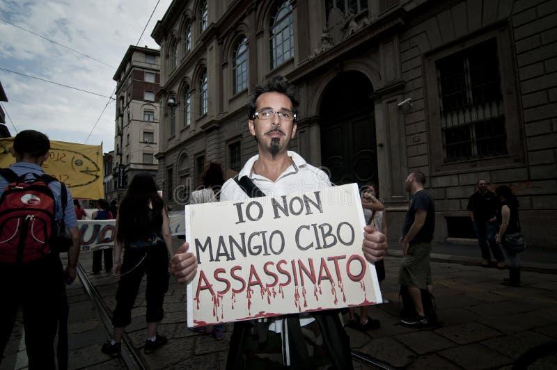 Veggie Pride held in Milan June 18, 2011