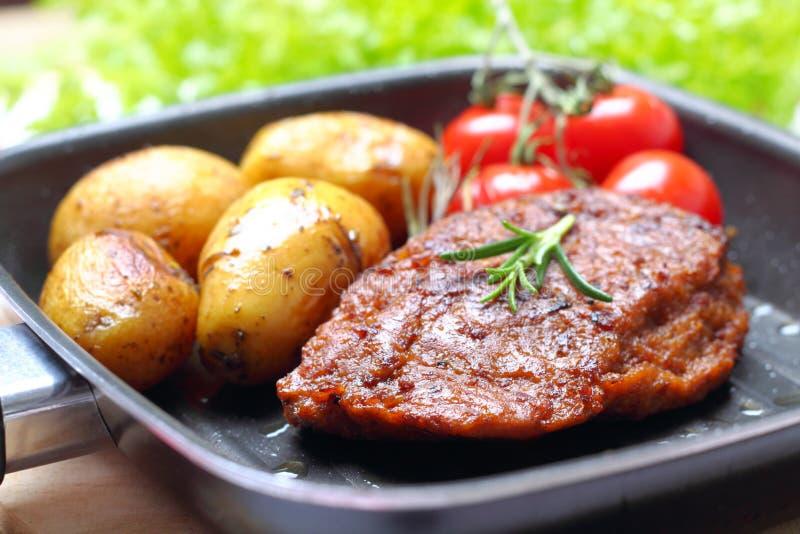 Veggie-Steak stockfotos