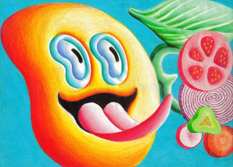 Download Veggies stock illustration. Illustration of diet, food - 13620301