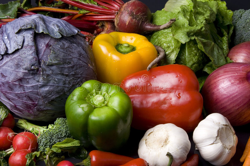 veggies arkivbilder