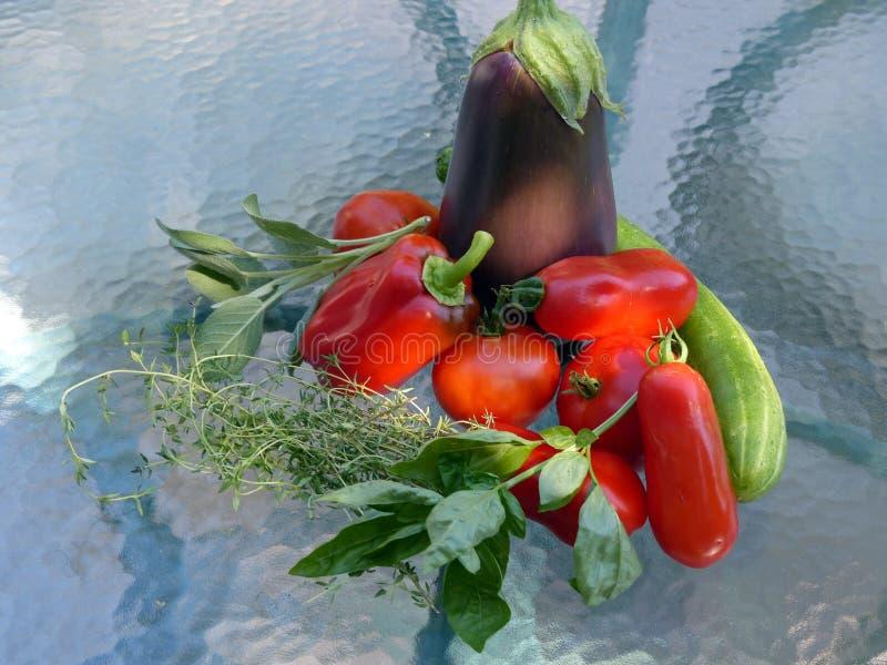 Veggies Od Mój ogródu zdjęcie stock