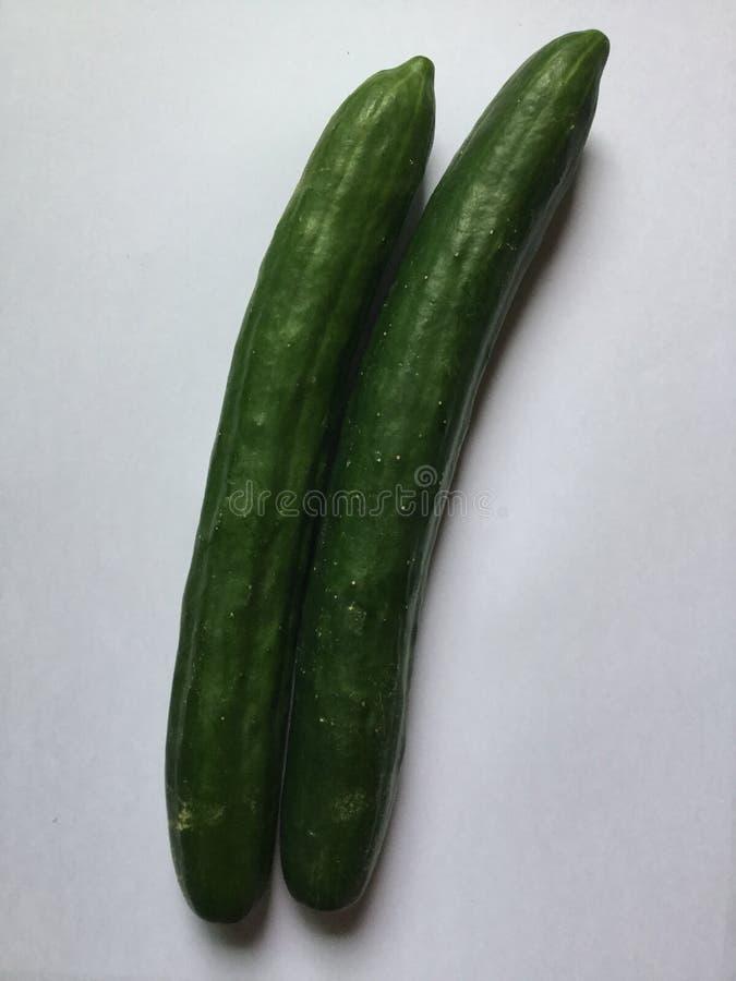 veggies Pepinos fotografía de archivo