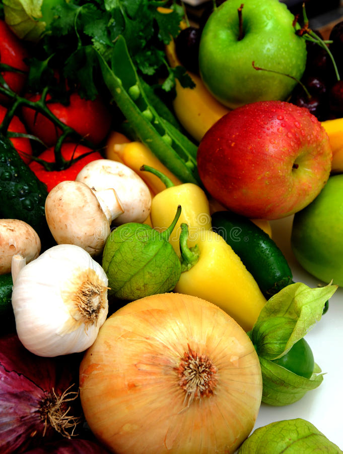 Free Vegtables And Fruit Stock Photography - 10473642