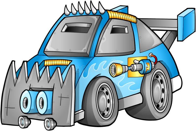 Vehículo apocalíptico del coche libre illustration