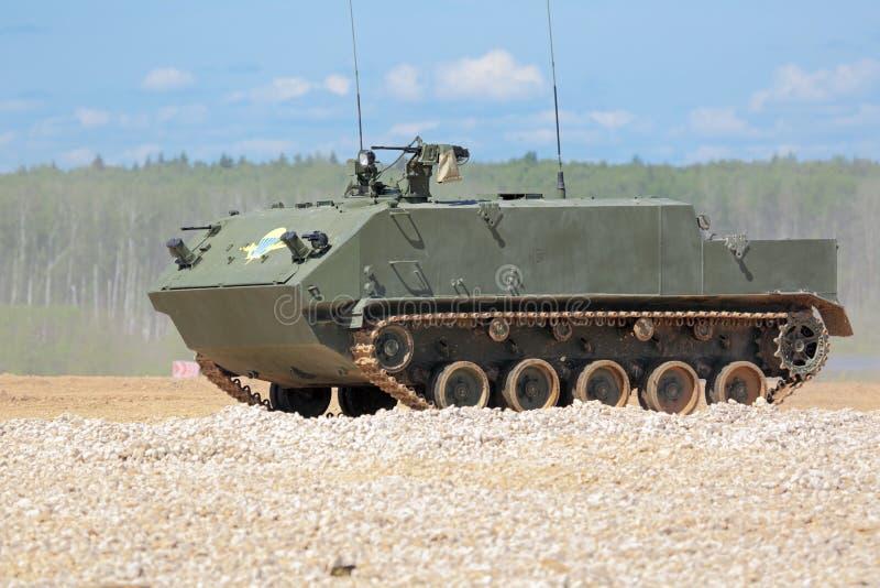 Vehículo blindado de transporte de personal aerotransportado BTR-MDM imagen de archivo libre de regalías