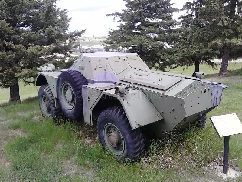 Vehículo blindado WW2 fotos de archivo libres de regalías