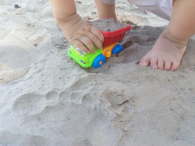Vehículo de ancho de juego infantil imágenes de archivo libres de regalías
