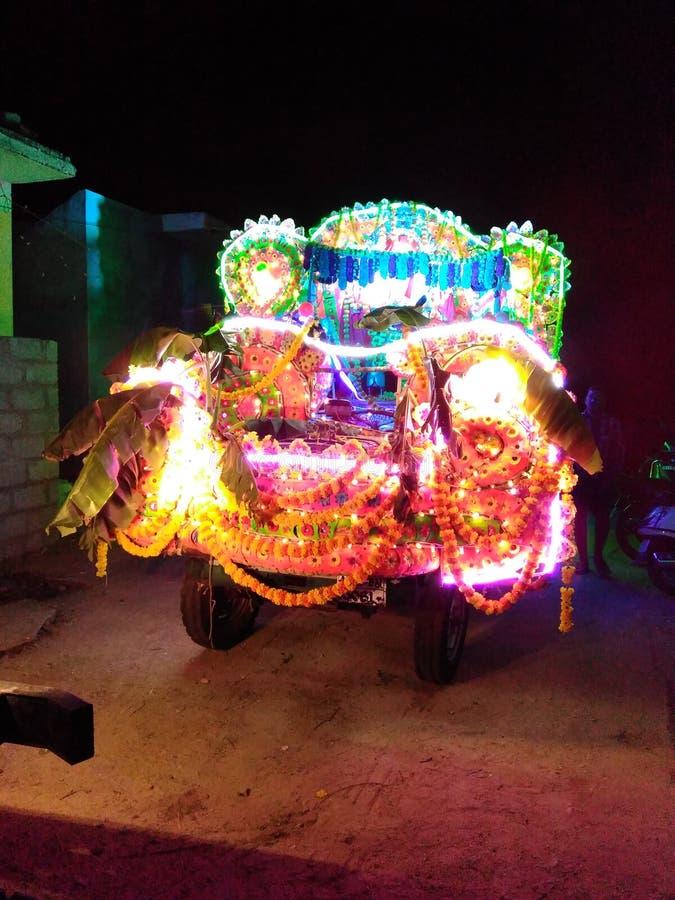 Vehículo de Chandini fotografía de archivo libre de regalías