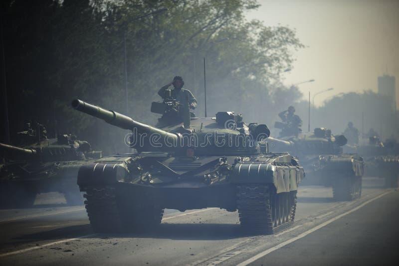 Vehículo de combate servio de la fuerza especial de ejército imagen de archivo