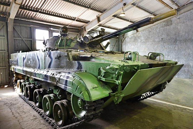 Vehículo de lucha BMP-3 de la infantería imagen de archivo libre de regalías