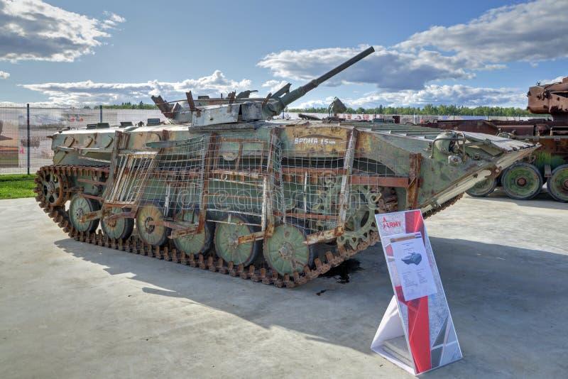 Vehículo de lucha BMP-1 de la infantería foto de archivo