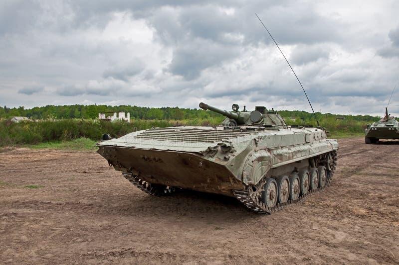 Vehículo de lucha de la infantería imagen de archivo libre de regalías
