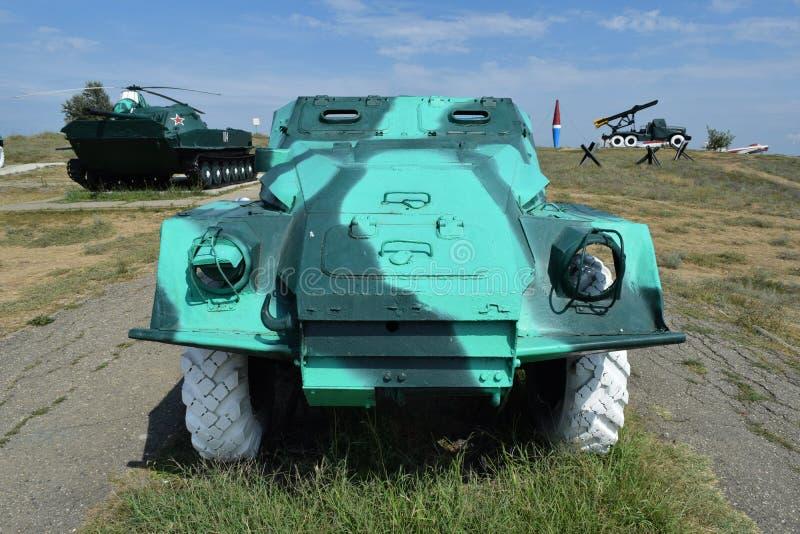 Vehículo de lucha de la infantería Vehículo militar para los soldados en el campo de batalla imágenes de archivo libres de regalías