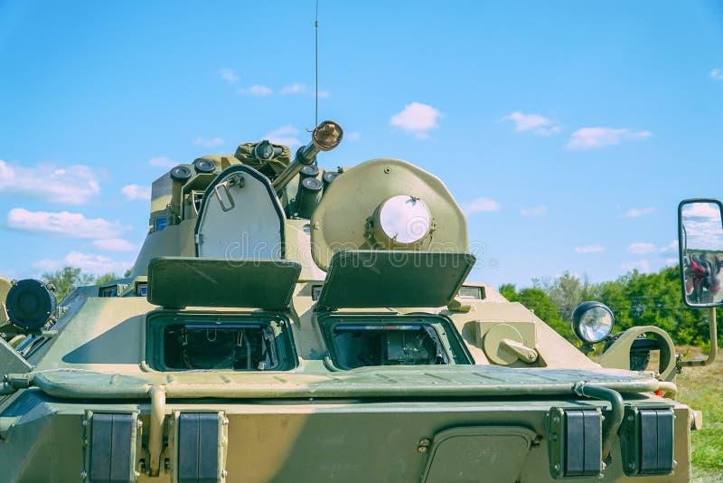 Vehículo de lucha de la infantería del arma fotografía de archivo