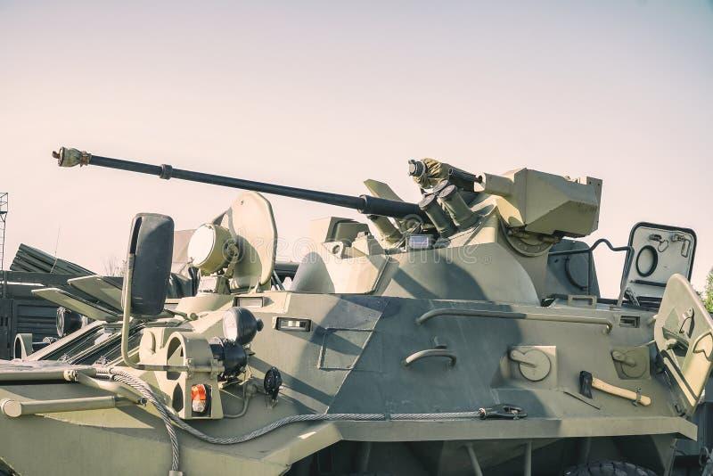 Vehículo de lucha de la infantería rusa imagenes de archivo
