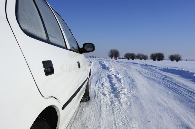 Vehículo del invierno fotografía de archivo