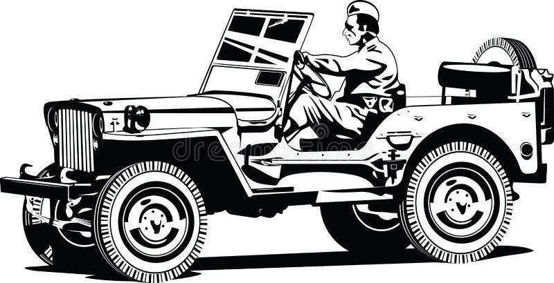 vehículo del Todo-camino. ilustración del vector